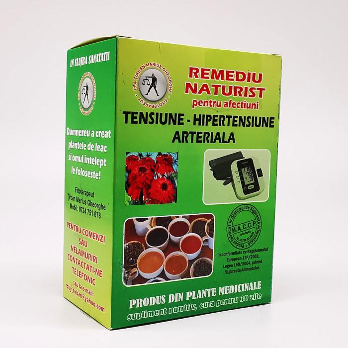 Ceai pentru tensiune - hipertensiune arteriala Marius Tirban Fitoterapeut 0